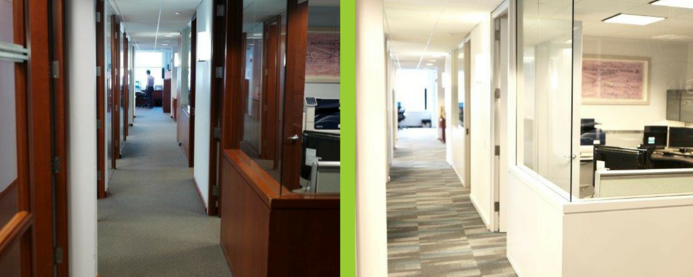 Distinctive Offices Before & After